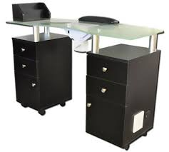 nail table ventilation systems professional manicure tables from american beauty equipment