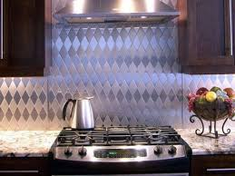 kitchen with wooden cabinets and copper backsplash kitchen