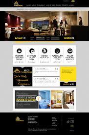 hotel gold house website design bela graphic idolza