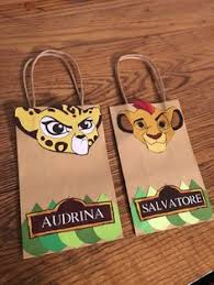 lion king wrapping paper lion king favor bags simba favor bags i q jungle favor bags