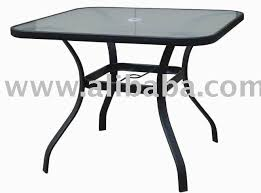 black patio table glass top glass top patio dining table outdoorlivingdecor black glass patio
