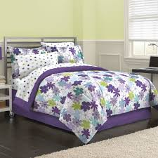 Lavender Comforter Sets Queen Bedroom Magnificent Purple Comforter Walmart Purple Twin Bed In