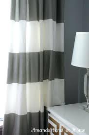Grey And White Striped Curtains Gray And White Striped Curtains Size Of Gold Drapes With