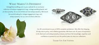 vintage and antique engagement rings vintagediamondring