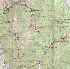 Map Run Route by Squaw Peak 50 Mile Trail Run World U0027s Marathons