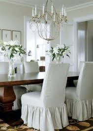 Slipcovered Parsons Dining Chairs Dining Rooms Palm Parsons Chair Dining Rooms Ideas