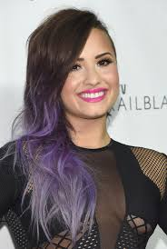 demi lovato hair extensions demi lovato lilac ombre beauty ombre and hair style