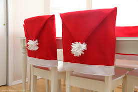 Santa Chair Covers Santa Hat Chair Covers A Serious Bah Humbug Repellent Make