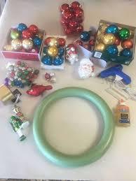 easy diy ornament wreath houston chronicle