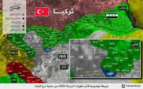 Isis Syria Map by Day Of News On The Map October 06 2016 Map Of Syrian Civil