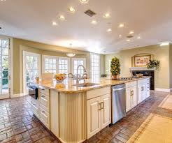 Island Ideas For Kitchens Appliances Classy Stone Tile Flooring With Fabulous Large