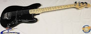 squier mustang bass squier vintage modified mustang bass black brand reverb