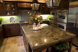 granite countertop table sets with benches flower arrangements