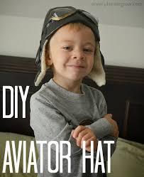 Aviator Halloween Costume Diy Aviator Hat Adorable Halloween Costume