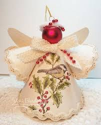 Christmas Decorations Paper Angels by 94 Best Angel Projects Images On Pinterest Christmas Ideas
