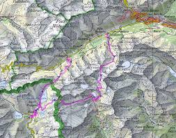Swiss Alps Map 4 Days Solo Hike In The Alps Ticino Piedmont Switzerland Italy