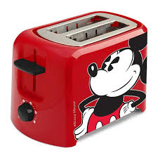 Disney Finds Disney Classic Mickey Mouse Toaster