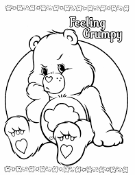 bear color pages newcoloring123