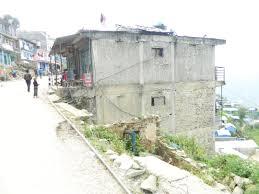 House On Slope October 2015 Shock Safe Nepal