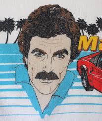 tom selleck 308 vintage 1980 magnum p i towel blanket 308 gts bath