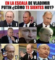 Vladimir Putin Memes - dopl3r com memes en la escala de vladimir putin c纉mo te