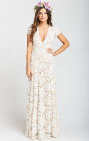me your wedding dress eleanor maxi dress lace me the ring me your mumu