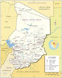 Map Of Libya Chad South African History Online