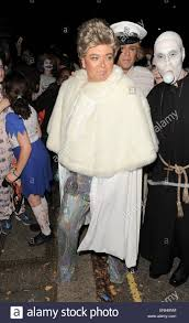 Addams Family Uncle Fester Halloween Costumes by Jonathan Ross U0027 Halloween Party Arrivals Alan Carr Arrives