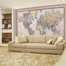 Framed Map Of The World by Wall26 Com Art Prints Framed Art Canvas Prints Greeting