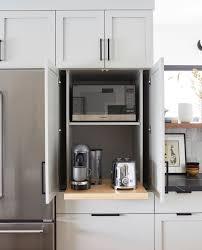 garage door for kitchen cabinet kitchen appliance garage with accuride pocket doors