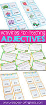 Adjectives That Compare Worksheets Best 25 Adjectives Activities Ideas On Pinterest Character