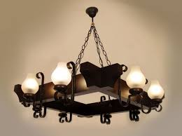 Iron And Wood Chandelier Creative Of Wood Chandelier Lighting 8 Intended For