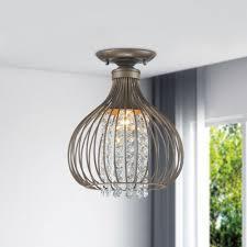 copper flush mount light marcela antique copper flush mount crystal bead chandelier