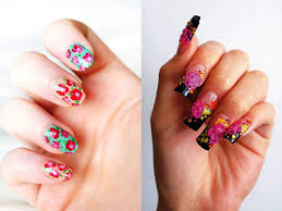 flower nail art trend in this fall beauty life
