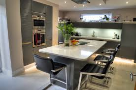 kitchen central island exceptional fitted kitchen clifton drive lytham st annes