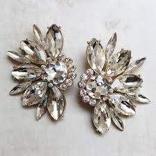 earrings clip on theroux statement clip on earrings mimi boutique