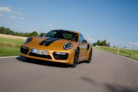 porsche yellow 911 turbo s exclusive series golden yellow metallic porsche
