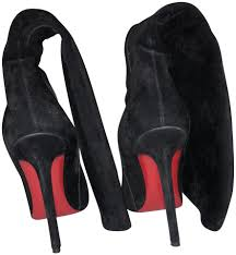 Images of Black Suede Louboutins