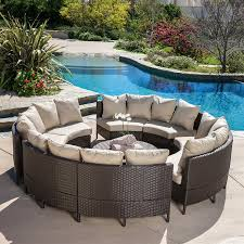 Pool Patio Furniture by Patio Wicker Patio Furniture Cheap Gray Round Unique Wooden