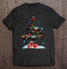 jeep christmas shirt jeep christmas tree t shirts teeherivar