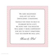 wedding registry inserts alannah wedding invitations stationery shop online