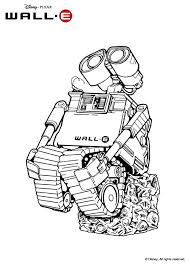 wall e in love coloring pages hellokids com