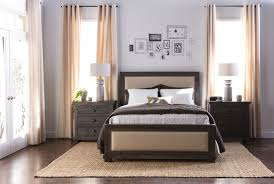 Bed Frame Connection Hardware Sinclair Grey Queen Panel Bed Living Spaces