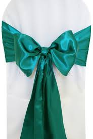 turquoise chair sashes oasis satin chair sashes bows ties wholesale