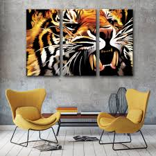 Home Decoration Painting by Popular Tiger Head Painting Buy Cheap Tiger Head Painting Lots