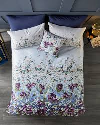 cotton gifts entangled enchantment cotton king duvet cover navy gifts