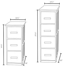 Lateral File Cabinet Dimensions Standard Filing Cabinet Width Rootsrocks Club