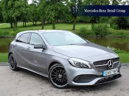 green mercedes a class used mercedes benz a class amg line grey cars for sale motors co uk