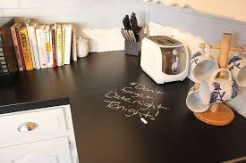 Paint For Kitchen Countertops with Chalkboard Countertops Hometalk