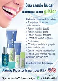 Favorito Creme Dental Glister 200G - Desapega @KS02